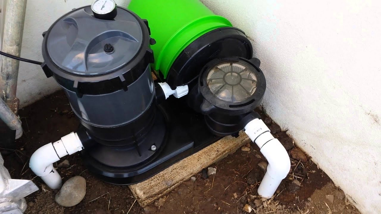 Pools Splapool Pump With Homemade Motor Cover Youtube