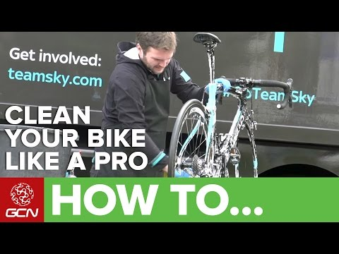 How To Clean Your Bike Like A Pro Team Mechanic With Team Sky