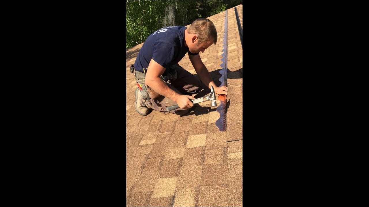 Roof Mold Remover Installing Copper Cat On An Quot Existing