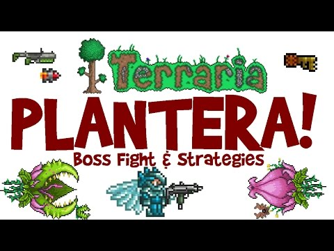 Terraria 1.3 Plantera Guide! Arena & SOLO Boss Fight! (Let's Play, PC Gameplay)