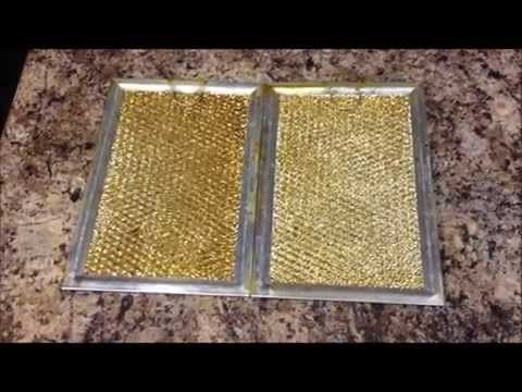 How to Clean Stove Hood filter
