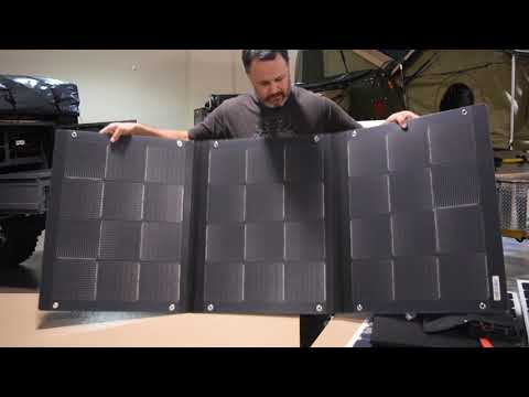 Portable Solar Panel Review  Part 1