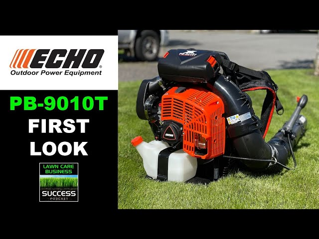 ECHO PB-9010T Back Pack Blower   First Look and Startup Plus Side By Side Comparison To The PB-770T