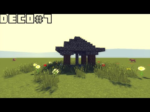 minecraft design deco 7 puits medievale youtube. Black Bedroom Furniture Sets. Home Design Ideas