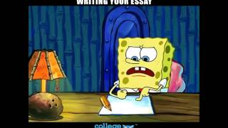 When You Finally Get Around To Writing Your Essay