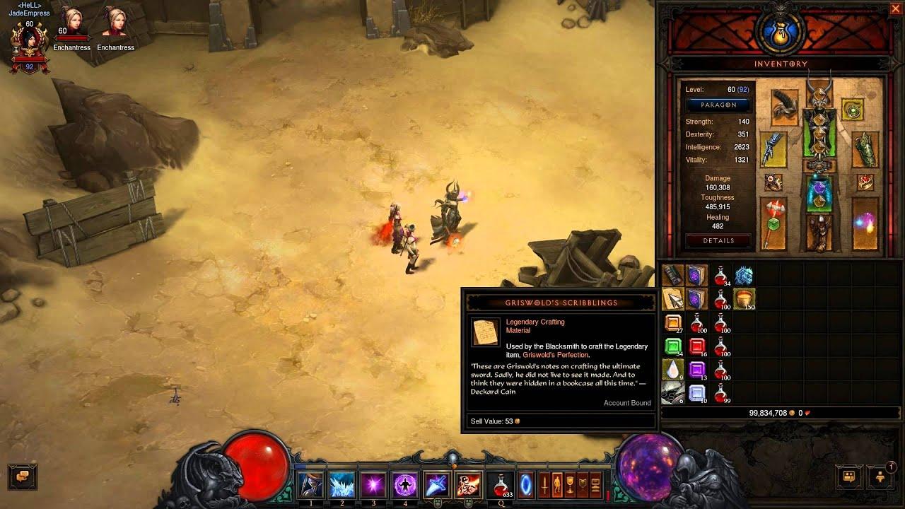 Diablo 3 reaper of souls legendary crafting material for Diablo 3 crafting items