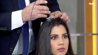 تشخيص الشعر واحتياجاته عن طريق جهاز جديد