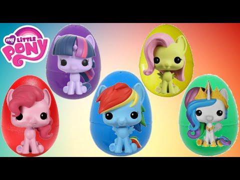 FUNKO POP My Little Pony Eggs MLP Toy Surprises | Toys Unlimited