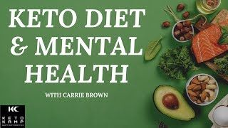 It turns out, there's keto foods that can help reduce depression and anxiety. carrie brown explains how she was able to cure her with the ketogeni...