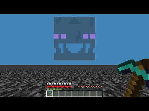 Don't mess around with the Minecraft void..