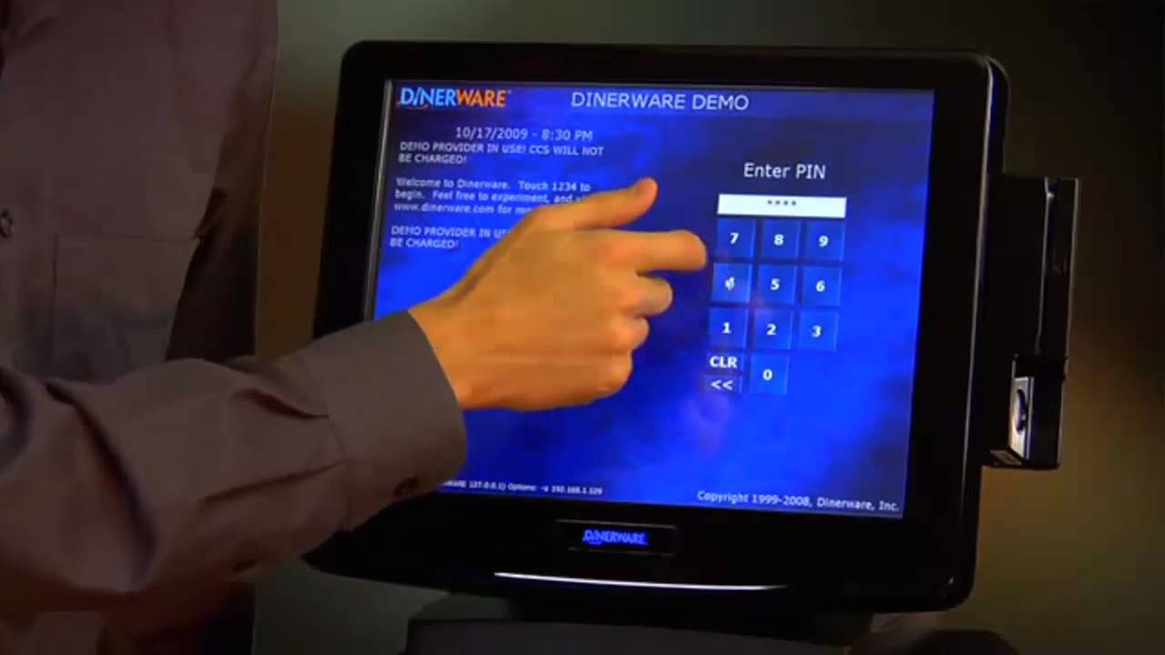 Dinerware POS-Everyday Features & Dinerware POS-Everyday Features - YouTube