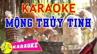 Mộng Thủy Tinh Karaoke || Beat Chuẩn