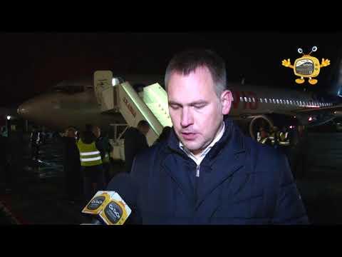 Впервые Boing 737 800 произвел посадку в аэропорту Ижевска