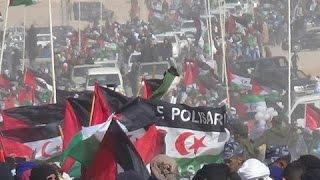 استقبال الشعب الصحراوي  لبان كي مون