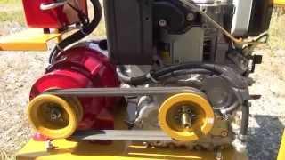 自作ディーゼル発電機、ロビン DY23 、2.4KVA