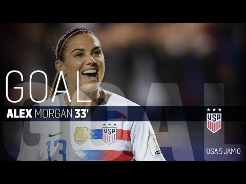 WNT vs. Jamaica: Alex Morgan First Goal - Oct. 14, 2018