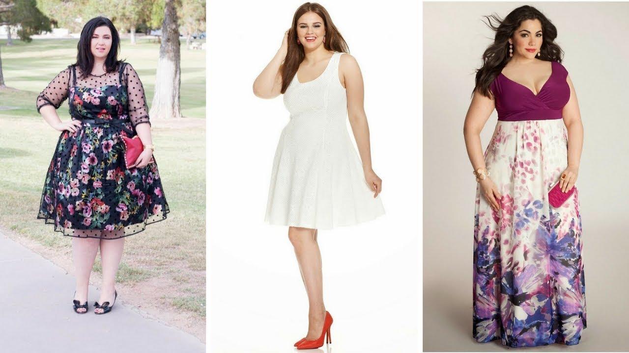 Imagenes de vestidos para gorditas jovenes