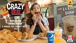 Mukbang 10 Ayam KFC CRAZY DEAL Mojang Cantik Bandung  - Citra Dhiya Mukbang #2