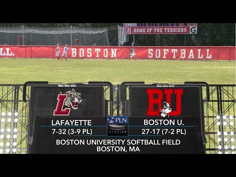 Highlights: Softball Doubleheader vs. Lafayette 4/21/2018