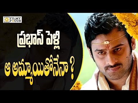 Thumbnail: Prabhas to Marry Grand Daughter of Rasi Cement Owners - Filmyfocus.com
