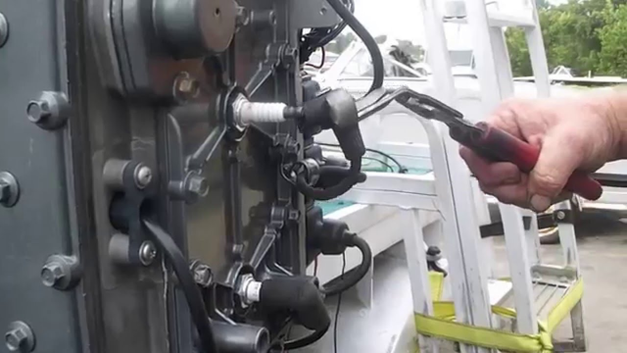 Mercury 90 Hp 3 Cylinder Engine now running on all three cylinders  YouTube
