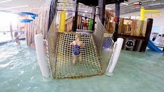 Elizabeth Swims in the Whirl Pool at the Frisco Texas Athletic Center Video