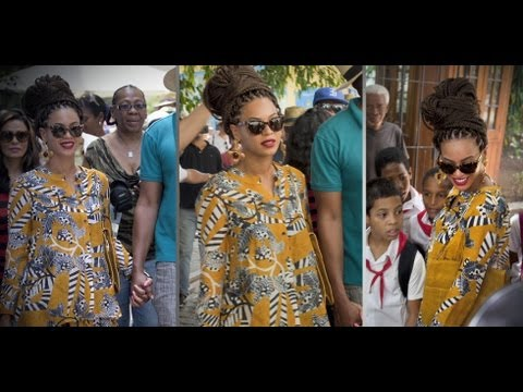 Beyoncé Nails the Island-Style Look in Cuba | Fashion Flash