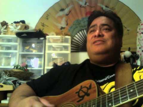FAMILYPomai Brown sings Waipi'o Memories for Cousin Darnel Doty in Arizona