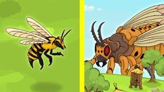 Эволюция ЗЛОЙ ПЧЕЛЫ! - Angry Bee Evolution