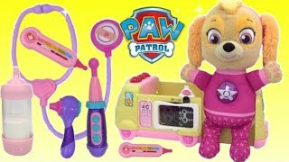 Paw Patrol Skye Visits Doc McStuffins TOY Hospital | Toys Unlimited