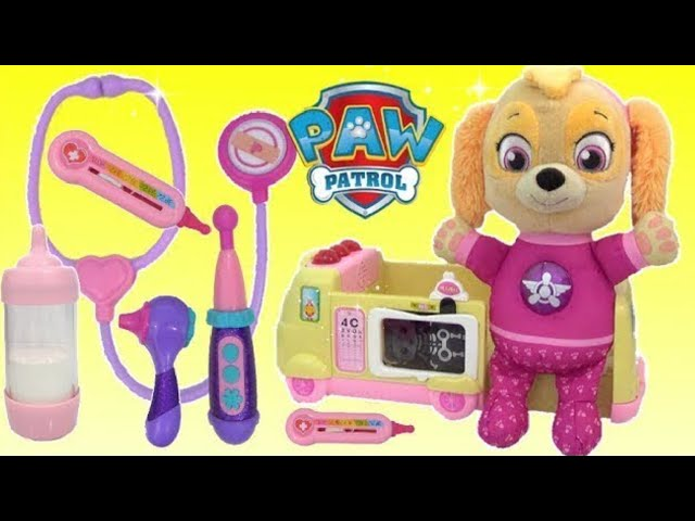 paw-patrol-baby-skye-ouchie-docmcstuffins-ambulance-and-toy-hospital-lol-surprise-dolls