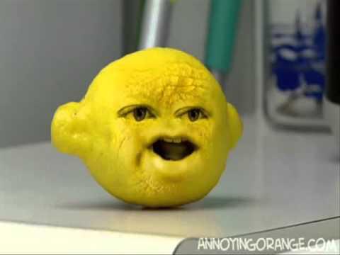 annoying orange grandpa lemon - photo #21