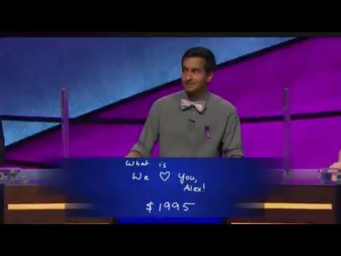 Walmart Jeff - Alex Trebek Gets Emotional Over 'Jeopardy!' Contestant's Answer