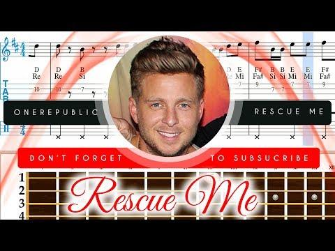 Rescue Me Sheet Music Ukulele - OneRepublic Rescue Me Tutorial thumbnail