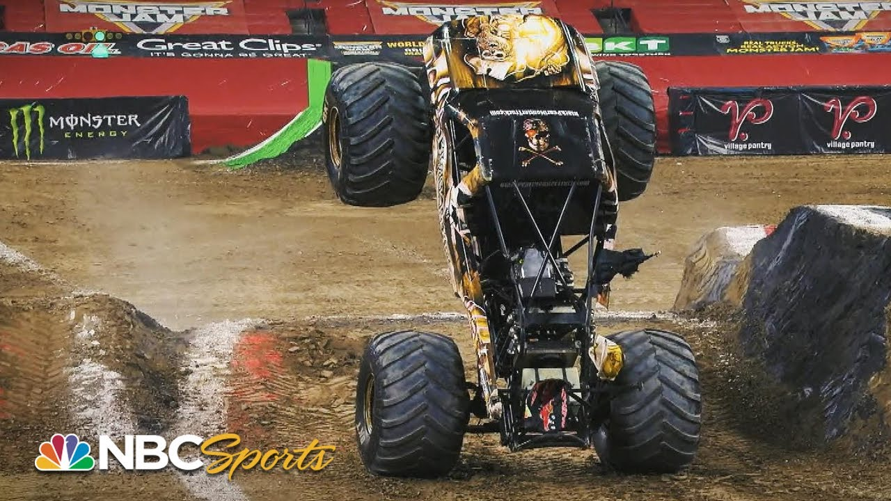 Monster Jam 2020 Indianapolis Extended Highlights Motorsports On Nbc Youtube