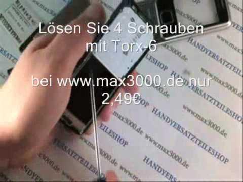 Reparaturanleitung Nokia 6300.wmv