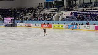 Софья Самодурова Короткая программа 4 этап кубка России по фигурному катанию 2020 2021