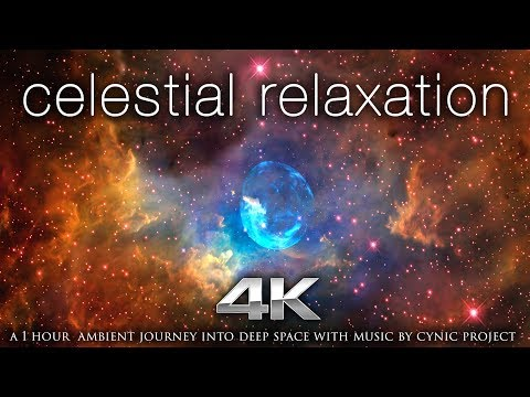 Celestial Relaxation 1 HR of 4K NASA Space/Galaxy Footage + 432HZ Ambient Music