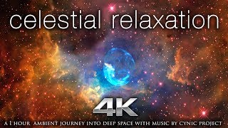 """Celestial Relaxation"" 1 HR of 4K NASA Space/Galaxy Footage + 432HZ Ambient Music"