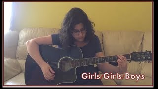 Panic! at the Disco - Girls/Girls/Boys (Acoustic Cover)