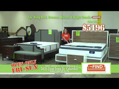TheFind Furniture Warehouse Columbus Ohio Bedroom