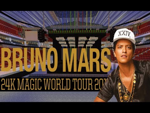 MINECRAFT PC: 24K Magic World Tour - Bruno Mars