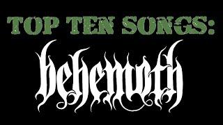 Top Ten Behemoth Songs chords | Guitaa.com