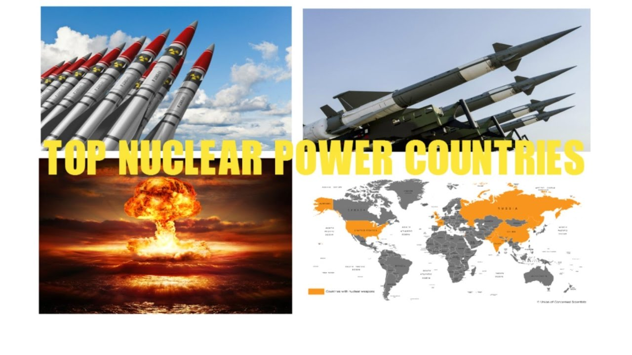 Top Nuclear Power Countries In The World In HDটপ টন - World's most powerful nuclear countries