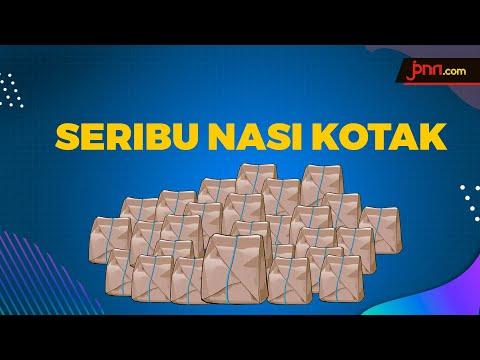Seribu Nasi Kotak Gratis Untuk Tenaga Medis