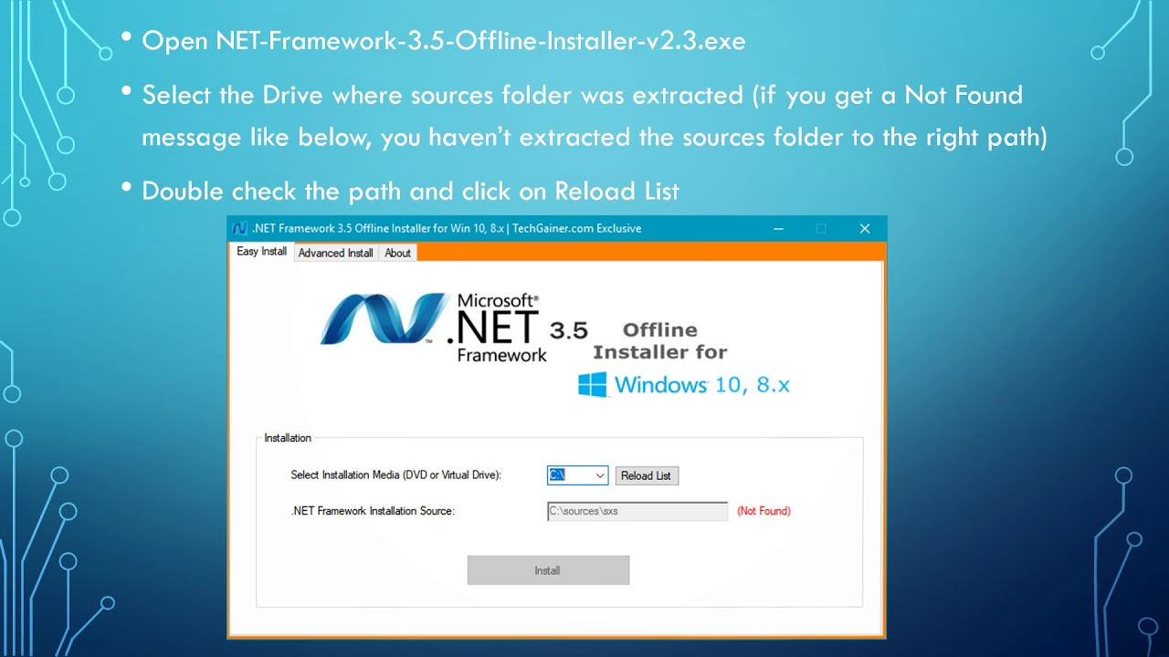 microsoft net framework 3.5 for windows 10 64 bit free download