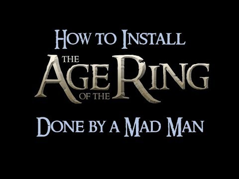 How to Install/Uninstall Age of the Ring Mod (and Patch 2.02)