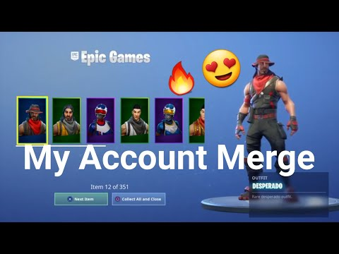 Fortnite Account Merging Is Amazing *WORKS