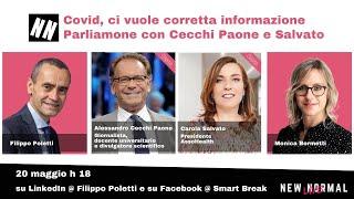 A New Normal Live Alessandro Cecchi Paone e Carola Salvato