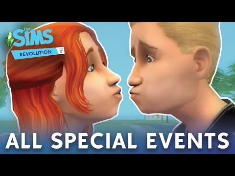 The Sims 2: All Special Events Camera Scenes (HD)